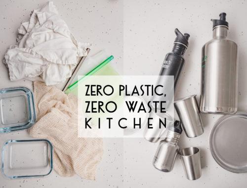 zero plastic zero waste kitchen