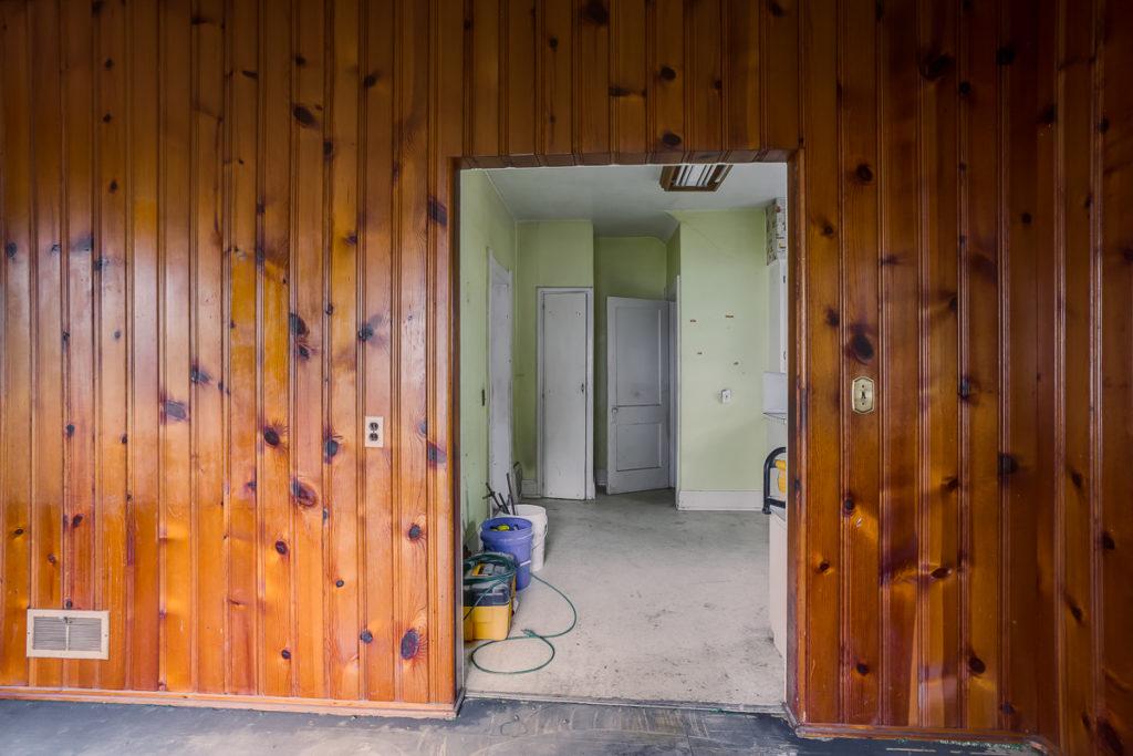 historic home renovation half bathroom mudroom addition